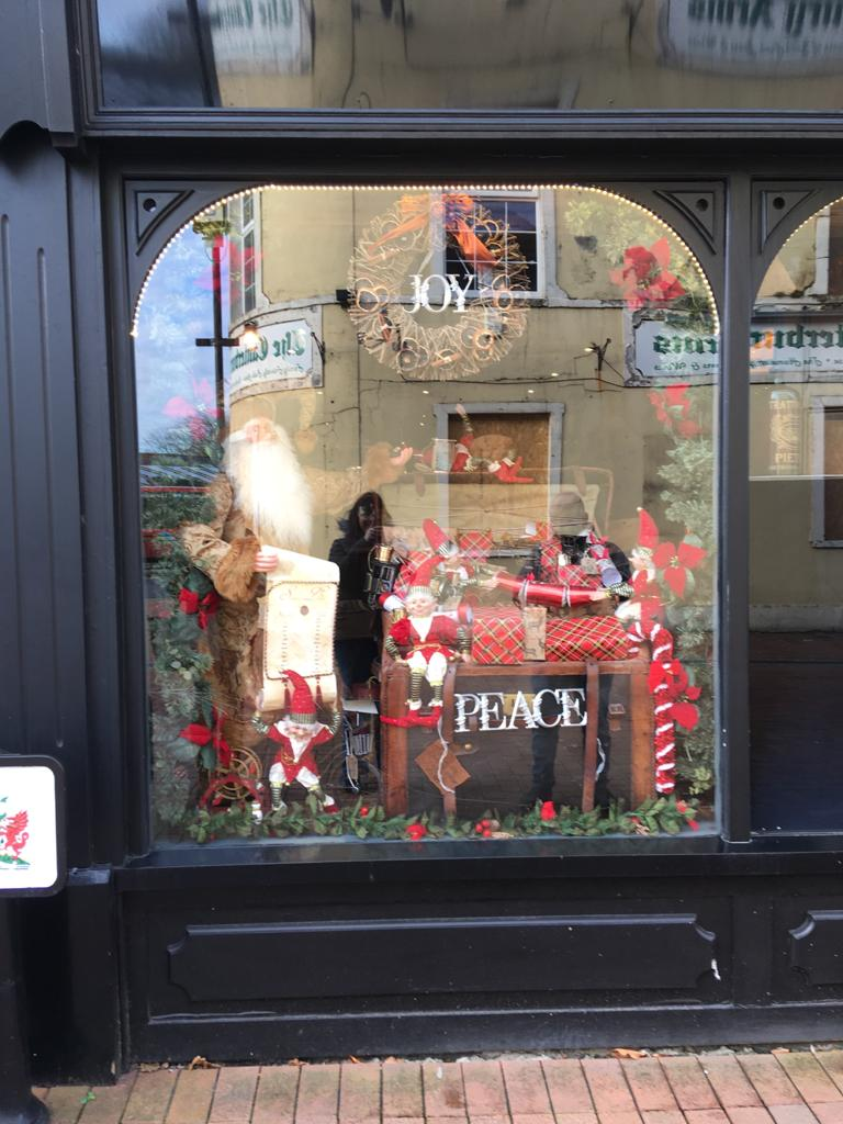 Cafe 46 Christmas Window