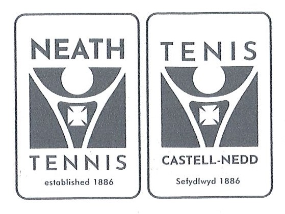 Neath Tennis Logo - bilingual