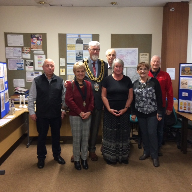 Mayor & Mayoress with Neath Antiquarians