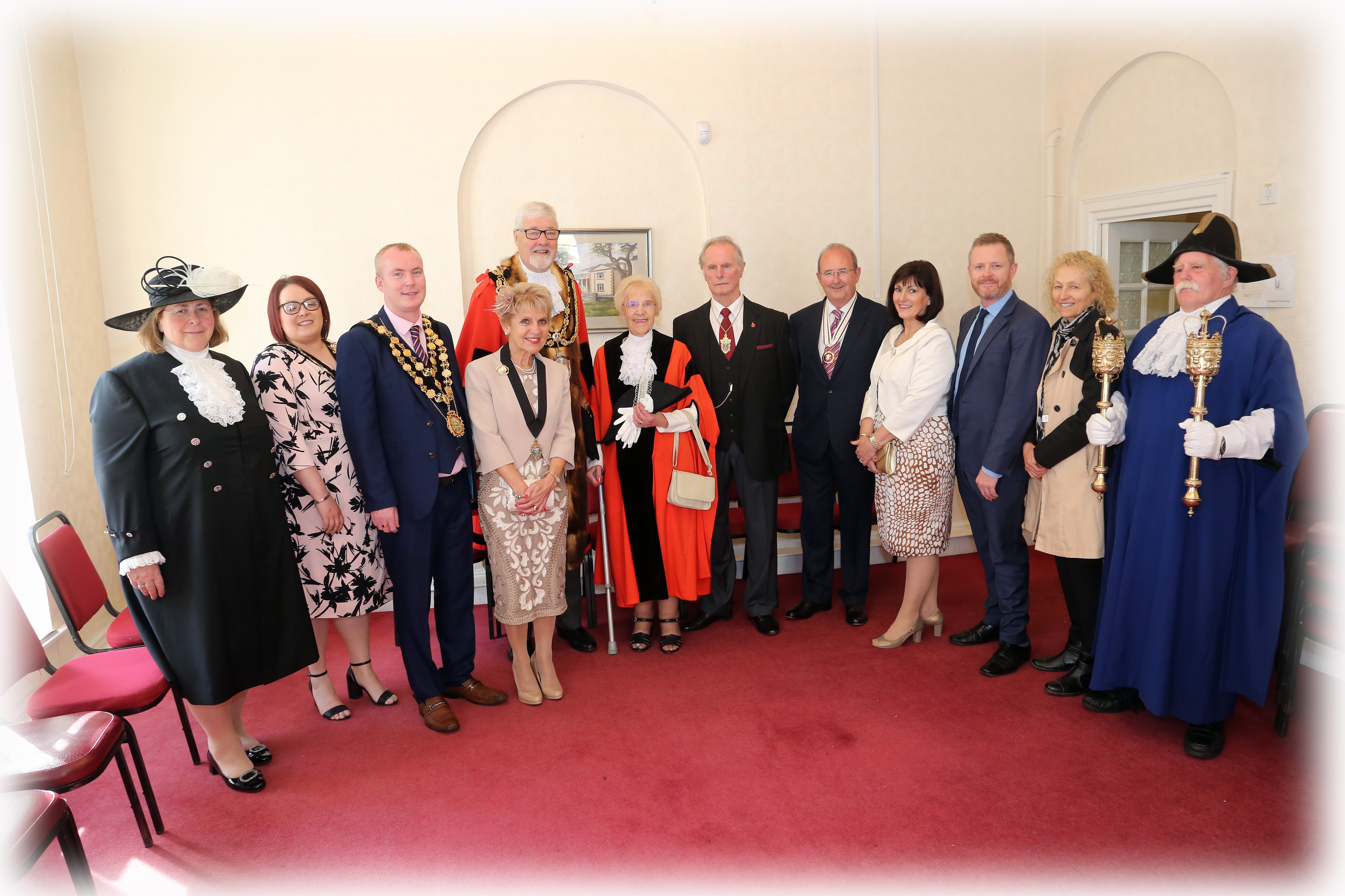 Mayor & Dignitaries at Civic Service