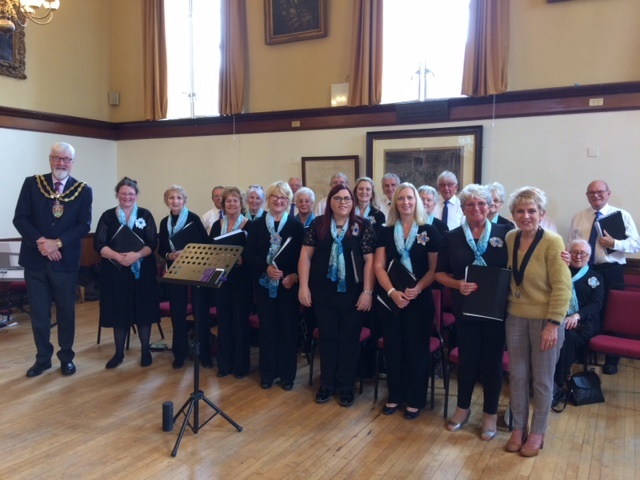 Waterwheel Singers with Mayor