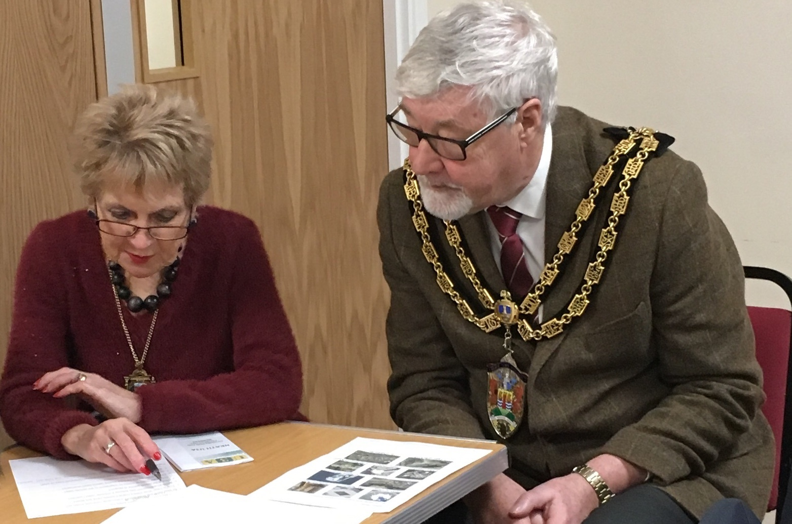 Mayor & Mayoress and Neath U3A Open Day