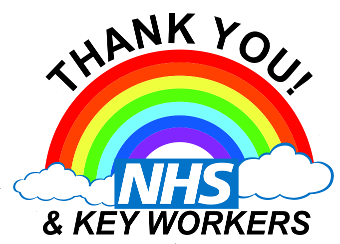 Thank You NHS logo