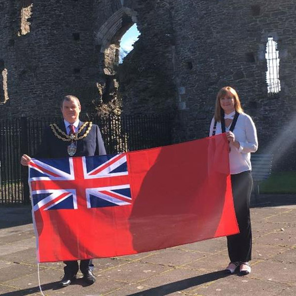 Flying the Red Ensign