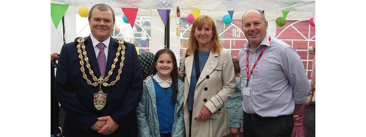 Gnoll primary school fete